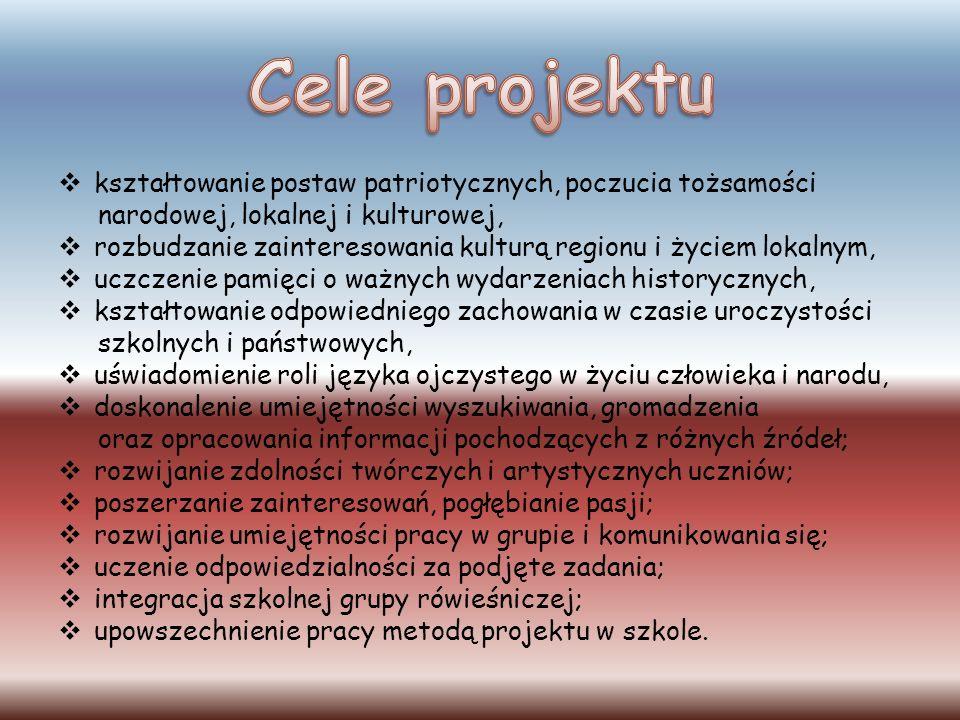 Kierownikiem projektu była pani Aneta Ambroży- nauczyciel języka polskiego.