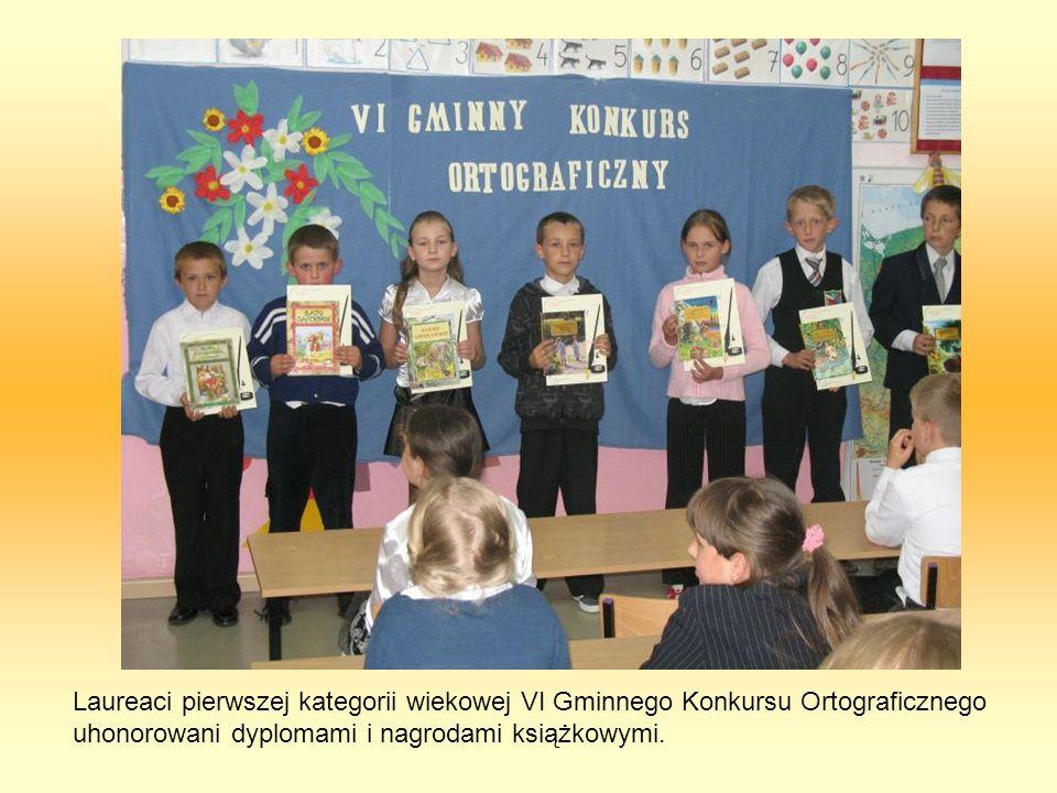 Konkurs jest bardzo dobrym sposobem zaprezentowania osiągnięć uczniów szerszej publiczności.