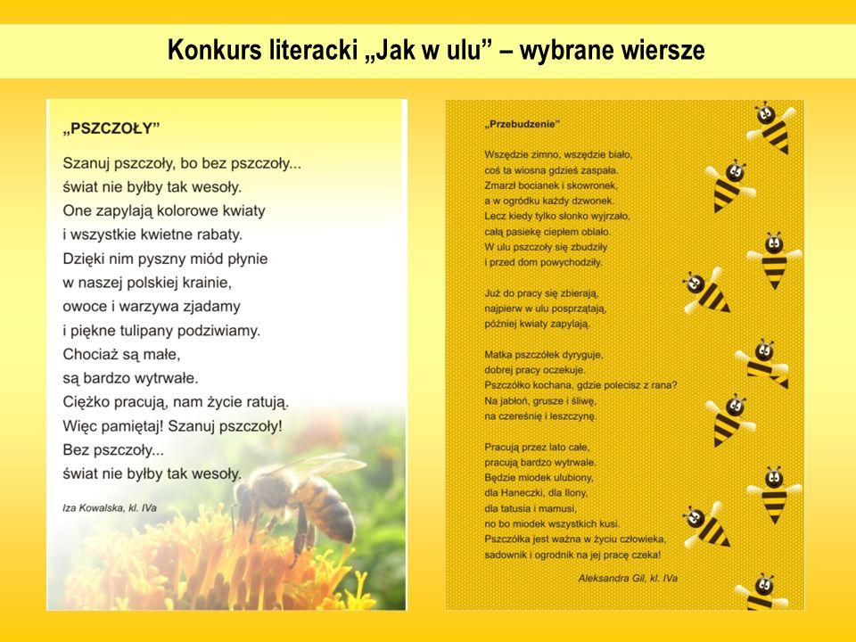 Konkurs literacki Jak w ulu – wybrane wiersze