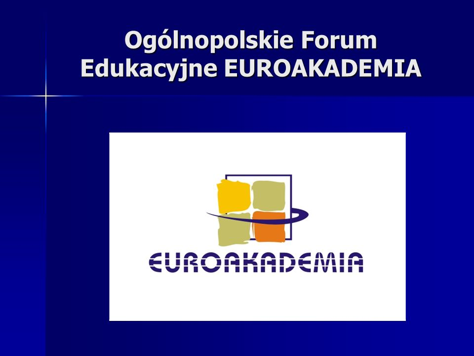Organizatorem Forum jest Centrum Edukacji i Rozwoju EFEKTY Centrum Edukacji i Rozwoju EFEKTY, w ramach którego działa Wydawnictwo Edukacja w Polsce, jest wydawcą ogólnopolskiego Informatora Edukacja.