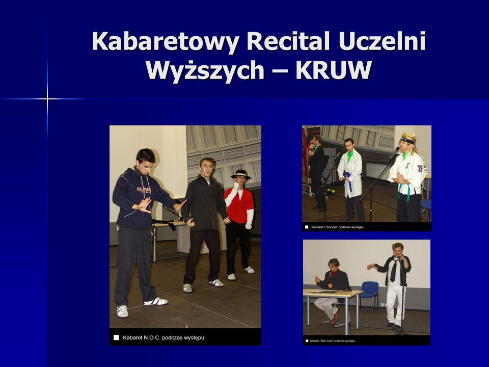 Kabaretowy Recital Uczelni Wyższych – KRUW