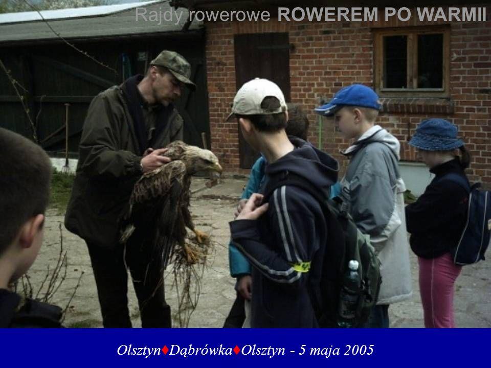 Olsztyn Dąbrówka Olsztyn - 5 maja 2005 Rajdy rowerowe ROWEREM PO WARMII