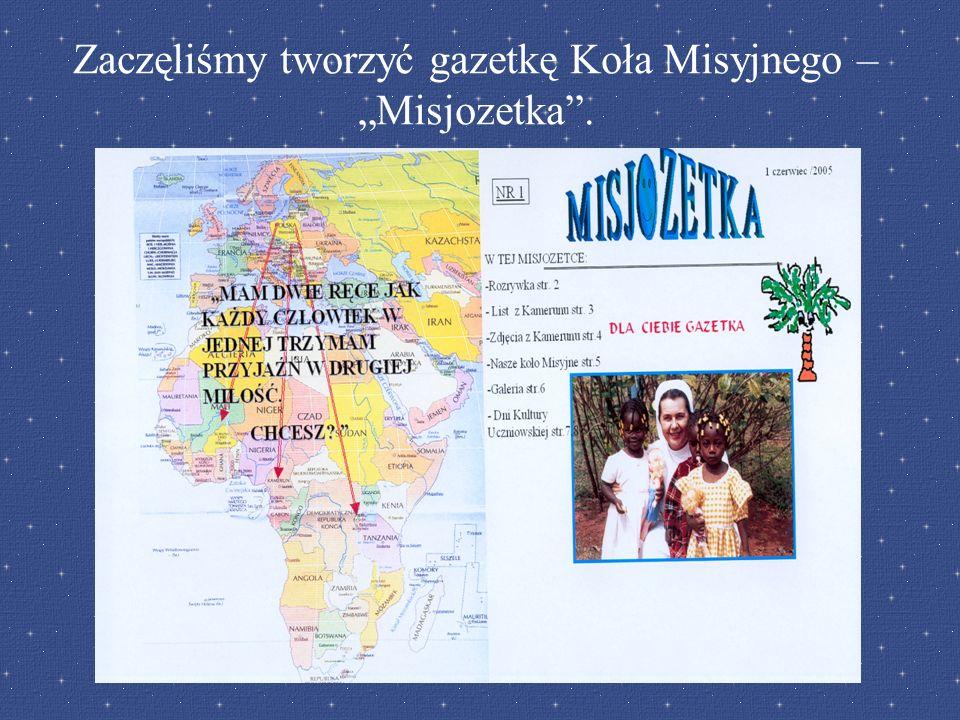 Zaczęliśmy tworzyć gazetkę Koła Misyjnego – Misjozetka.