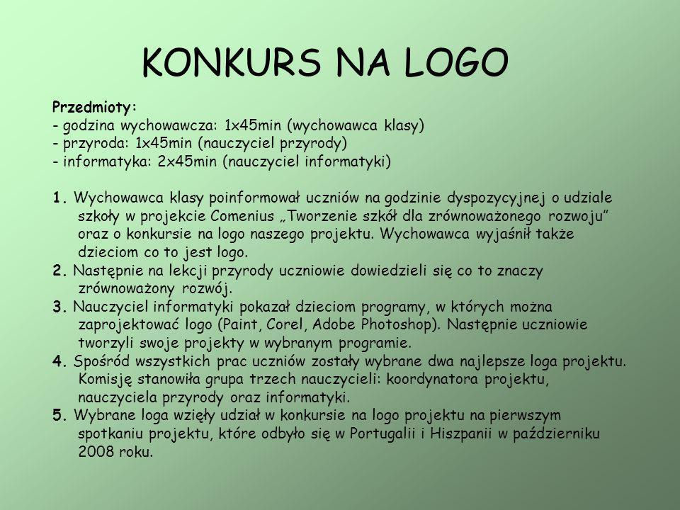 KONKURS NA LOGO Dwa projekty logo wybrane w Polsce.
