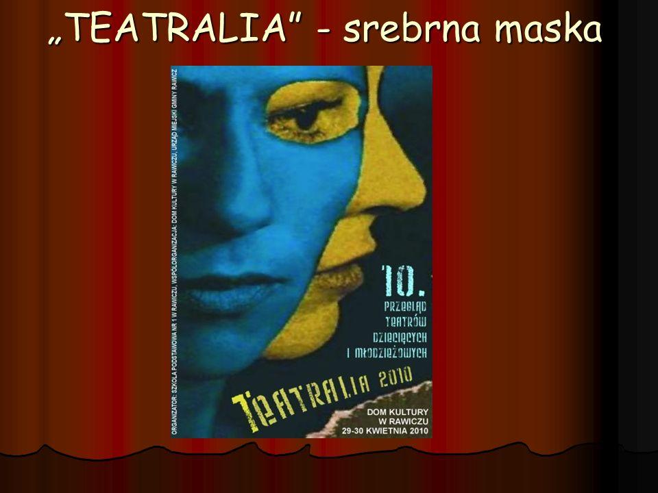 TEATRALIA - srebrna maska