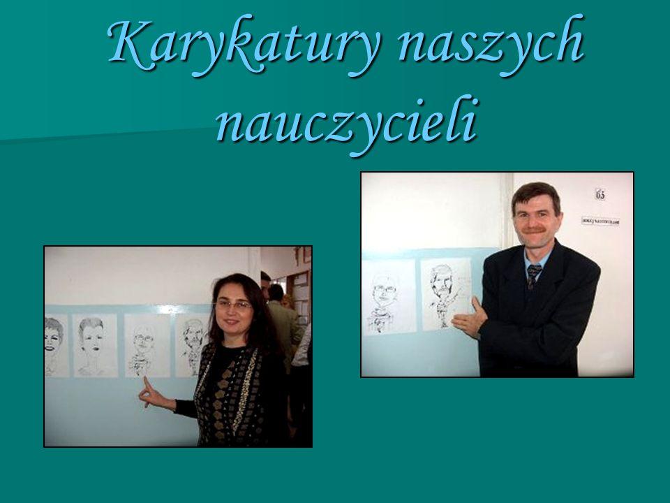 Karykatury naszych nauczycieli