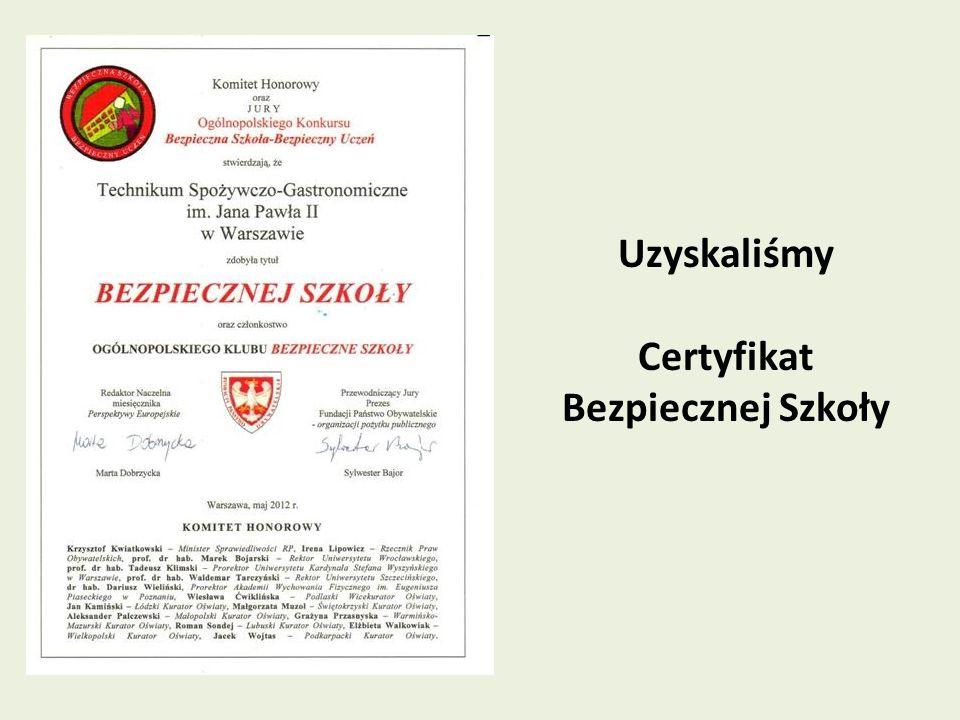 Realizujemy projekty WARSZAWSKICH INICJATYW EDUKACYJNYCH w ramach programu Warszawskie szkoły zawodowe na europejskim poziomie (2009, 2010, 2011, 2013) 2009 – jeden projekt 2010 – trzy projekty 2011 – trzy projekty 2013 – dwa projekty