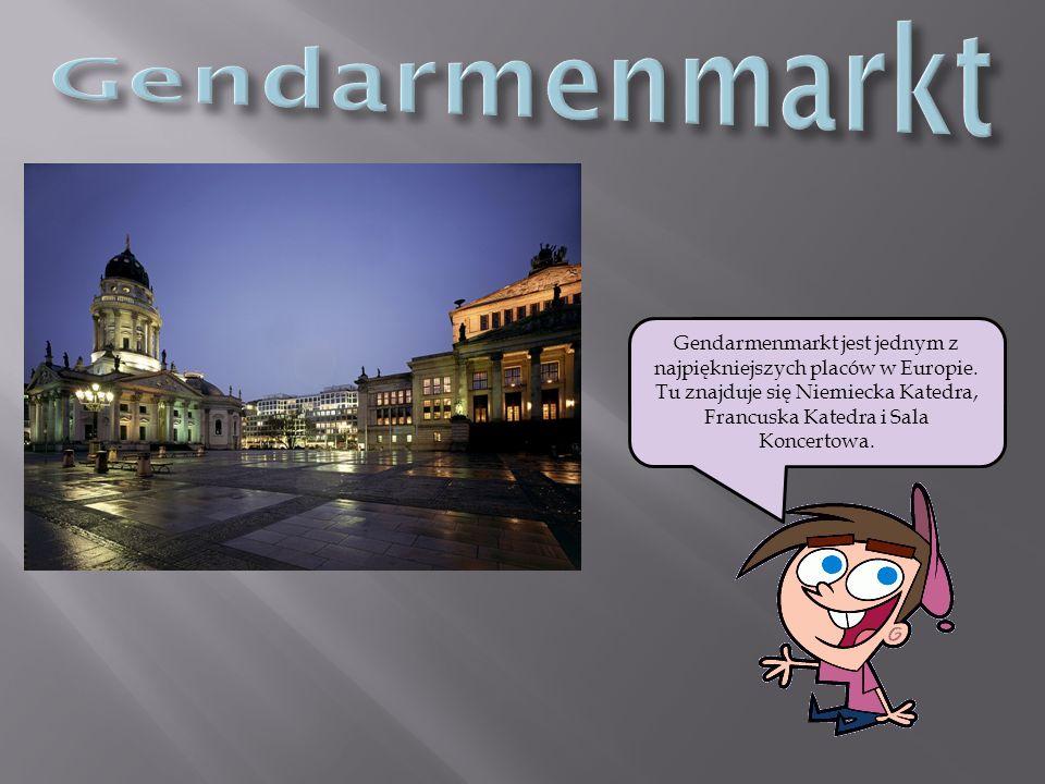 Gendarmenmarkt jest jednym z najpiękniejszych placów w Europie.