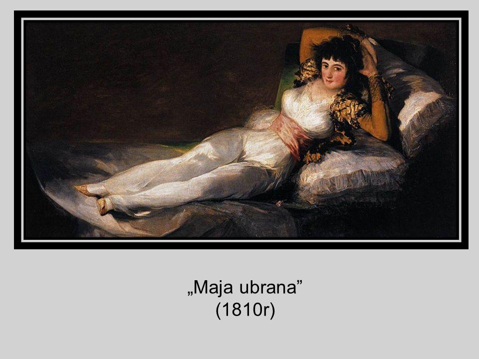 Maja ubrana (1810r)