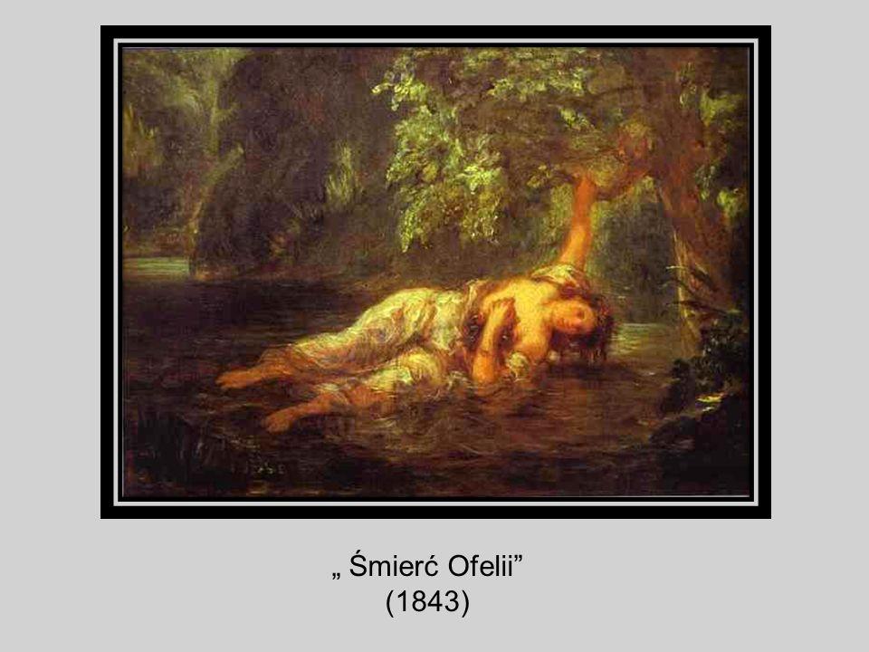 Śmierć Ofelii (1843)