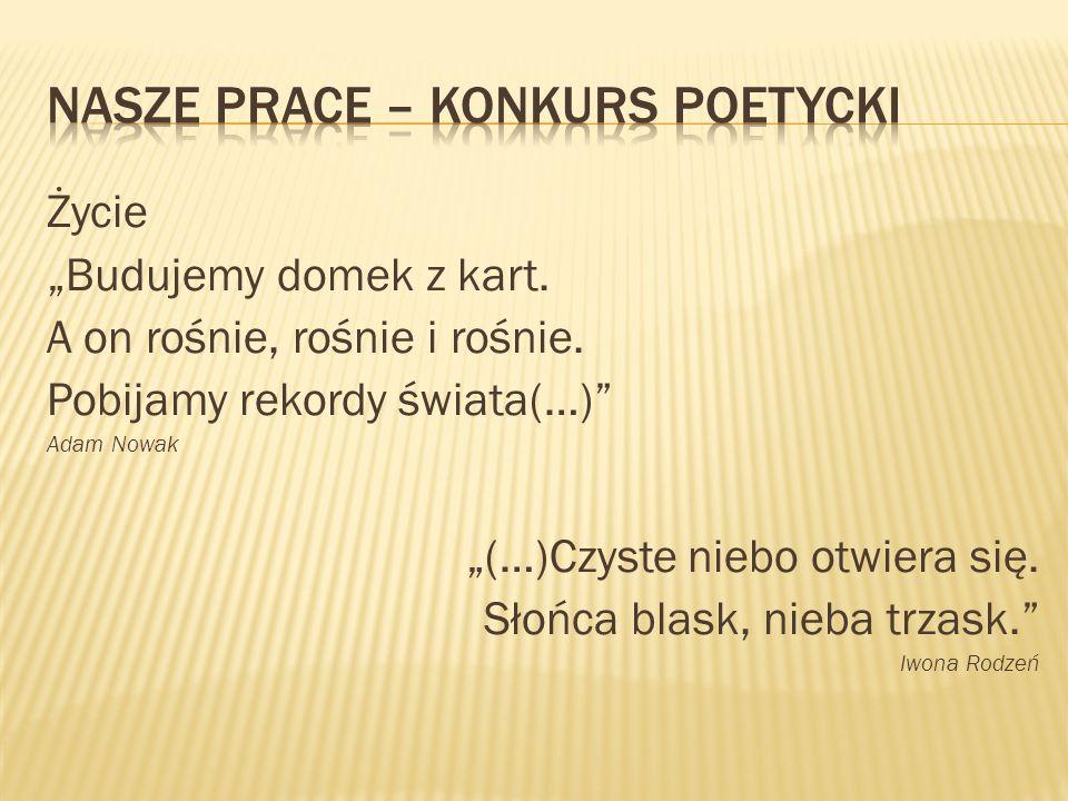 Polska.Polska. To ojczyzna moja. Polska. To flaga biało-czerwona.