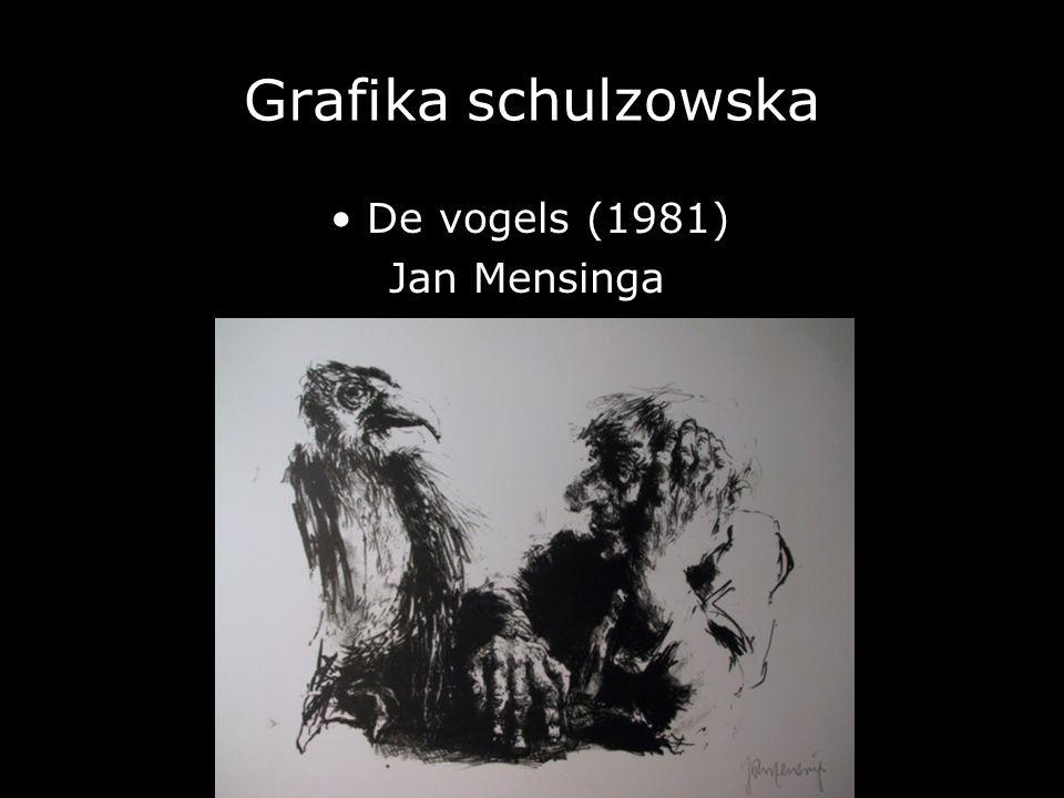 Grafika schulzowska De vogels (1981) Jan Mensinga