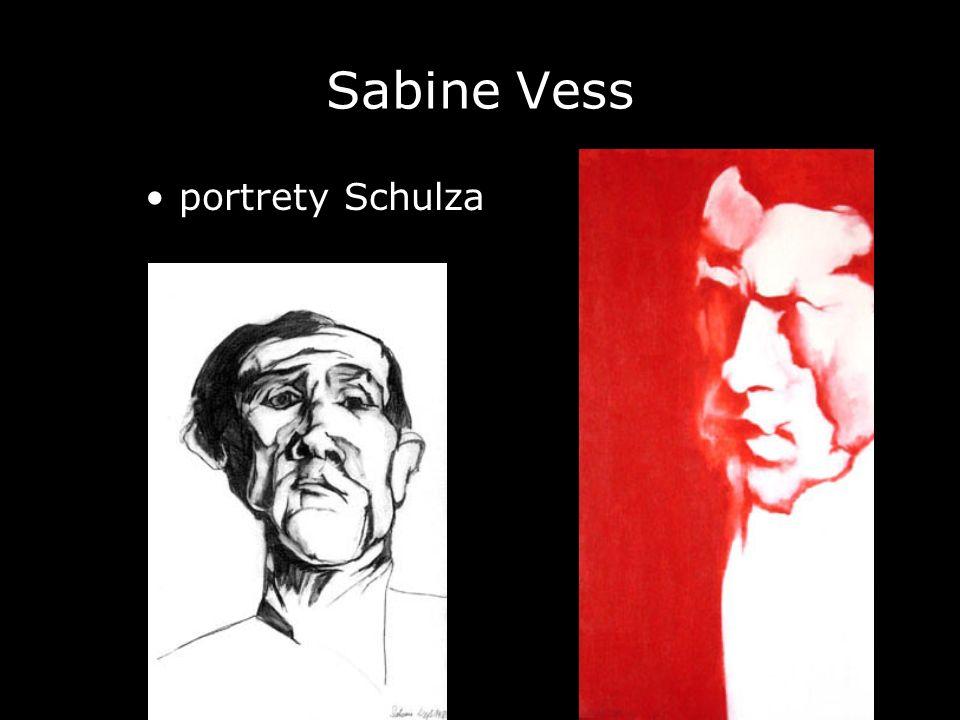 Sabine Vess portrety Schulza