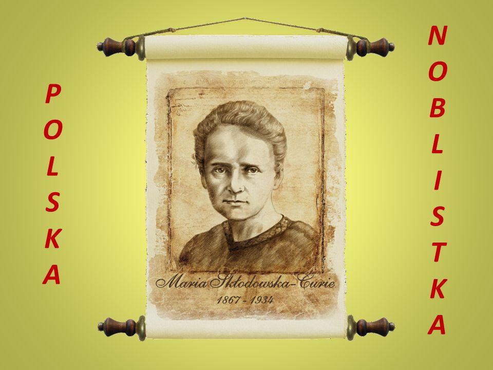 Pisarka Maria Skłodowska- Curie jest autorką kilku książek, m.in.