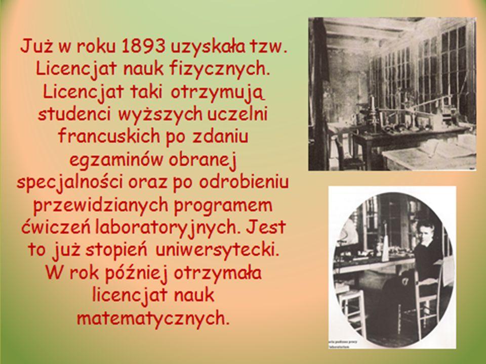 Bibliografia Ww www.google.pl www.sklodowska-curie.yoyo.pl www.muzeum.fizyki.pw.edu.pl www.wikipedia.pl, Ève Curie: Maria Curie.