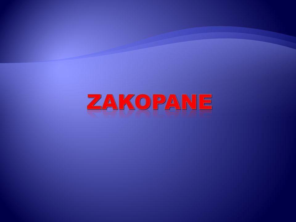 Miasto położone jest u stóp Tatr, w Rowie Podtatrzańskim (Kotlina Zakopiańska), nad kilkoma potokami, których wody ostatecznie wpadają do rzeki Zakopianka (dopływ Białego Dunajca).