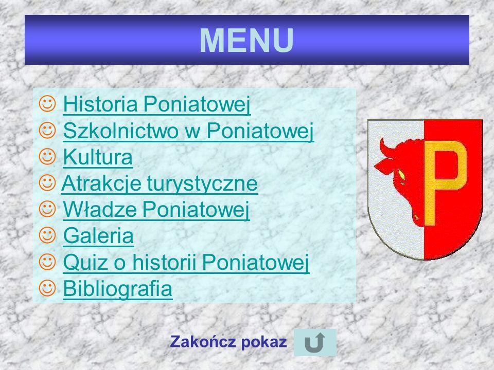 Opracowała: Magdalena Zagańczyk z kl. 5 b menu