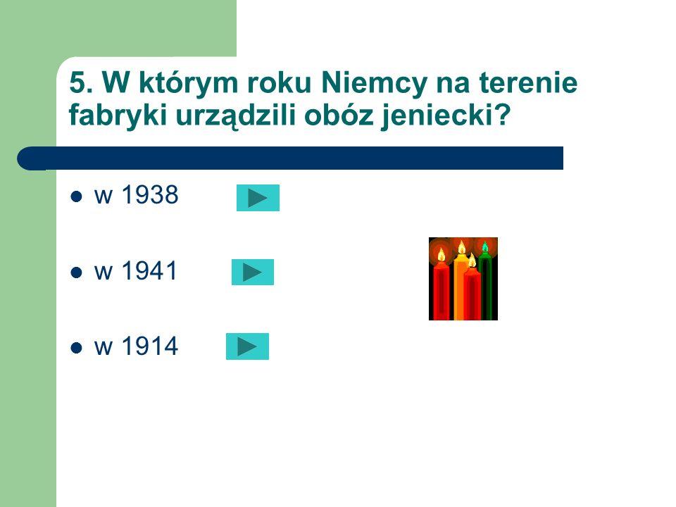4. W którym roku powstały Zakłady Tele i Radiotechniczne ? w 1937 w 1946 w 1953
