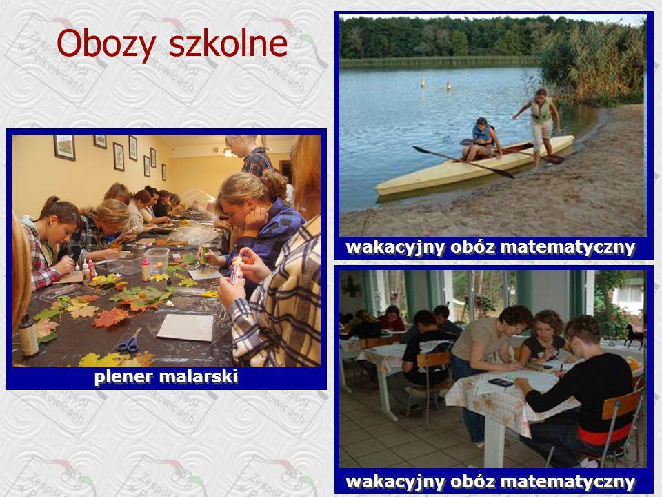 Obozy szkolne wakacyjny obóz matematyczny plener malarski wakacyjny obóz matematyczny