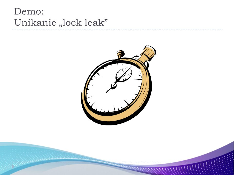 Demo: Unikanie lock leak