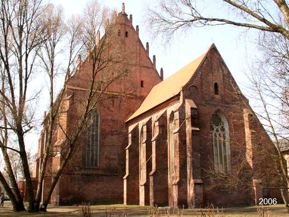 Centrum Sztuki Galeria EL, w budynku dawnego kościoła pw. Najświętszej Marii Panny (XVI w.) 2006