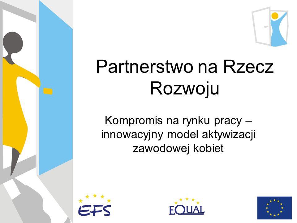Partnerstwo na Rzecz Rozwoju Kompromis na rynku pracy – innowacyjny model aktywizacji zawodowej kobiet
