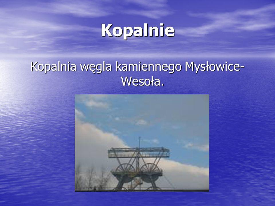 Kopalnie Kopalnia węgla kamiennego Mysłowice- Wesoła.