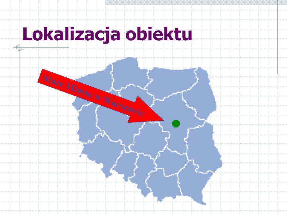 Lokalizacja obiektu Stare Miasto w Warszawie