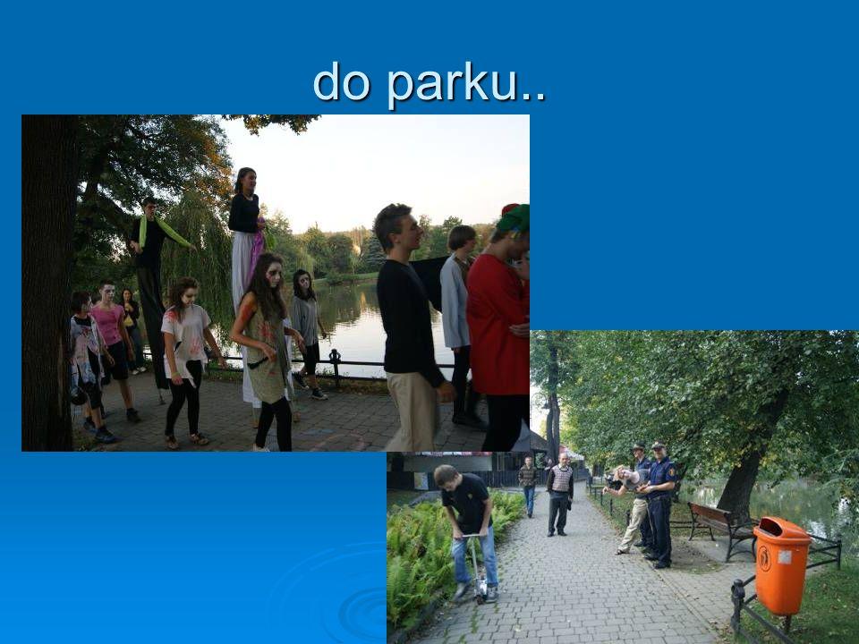 do parku..