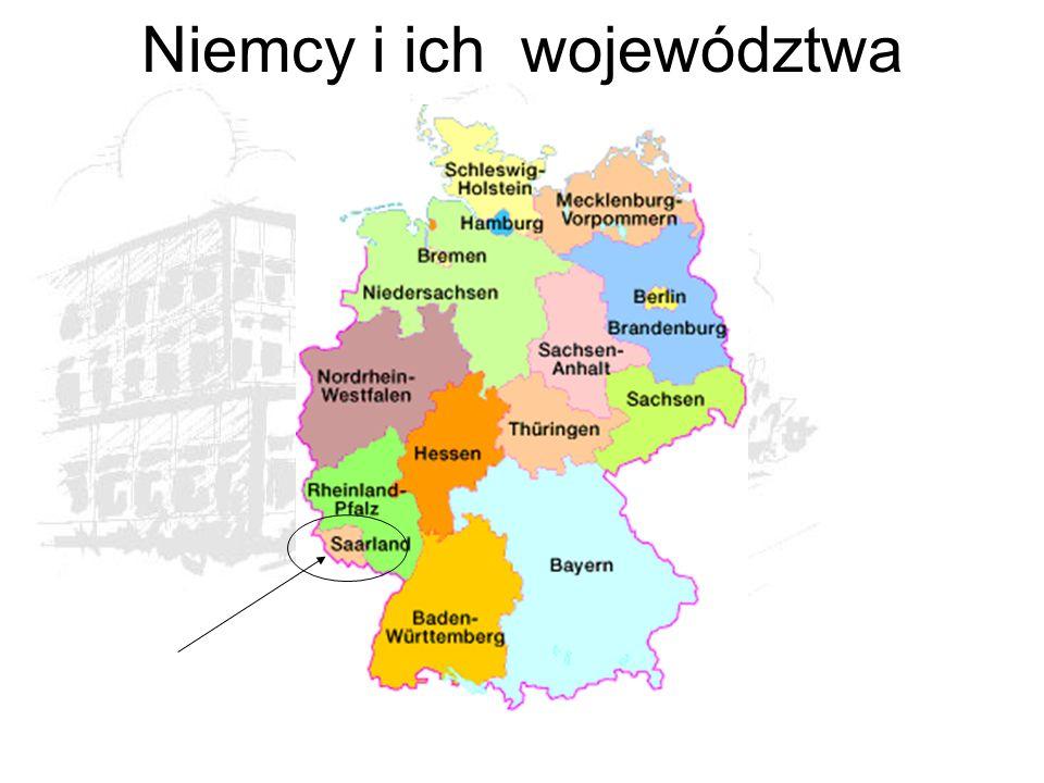 Niemcy i ich województwa