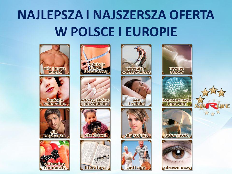 NAJLEPSZA I NAJSZERSZA OFERTA W POLSCE I EUROPIE