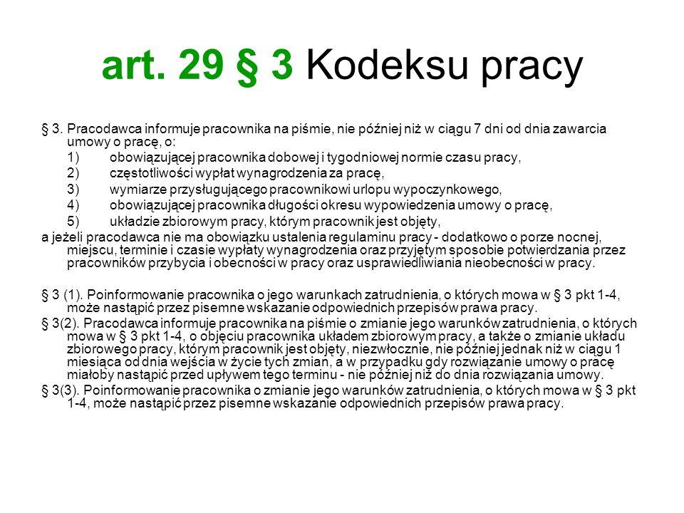 art.150 Kodeksu pracy Art. 150. § 1.