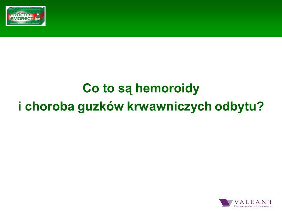 Co to są hemoroidy i choroba guzków krwawniczych odbytu?