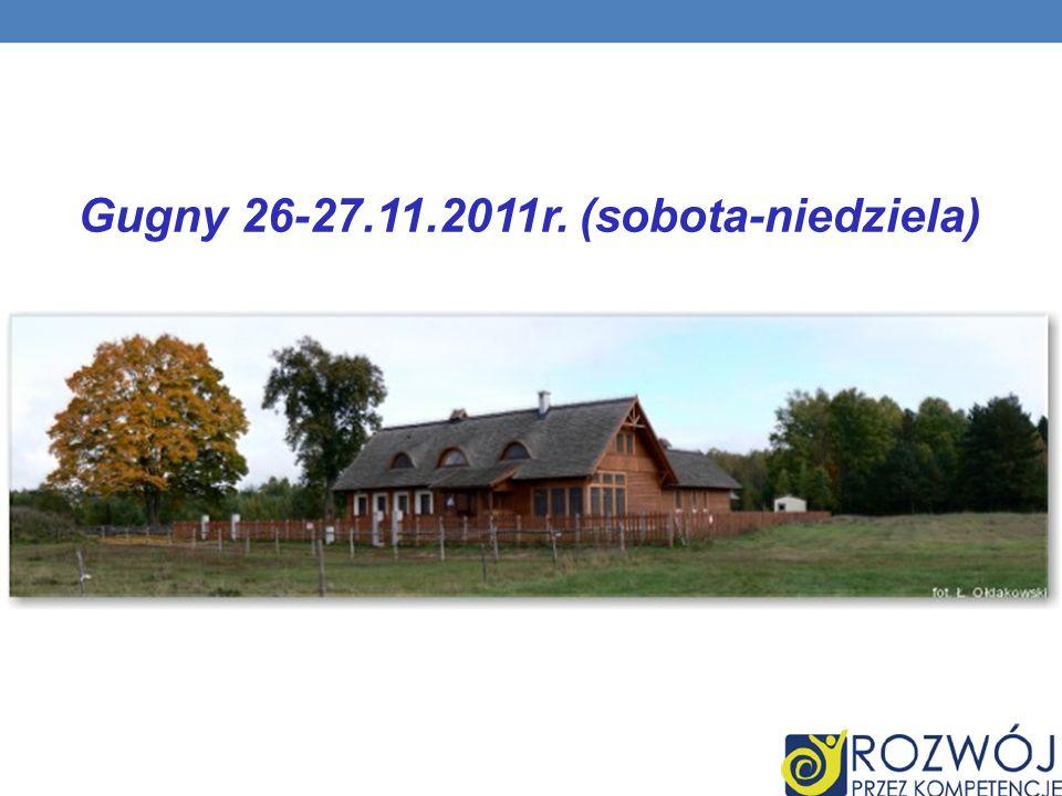 Gugny 26-27.11.2011r. (sobota-niedziela)