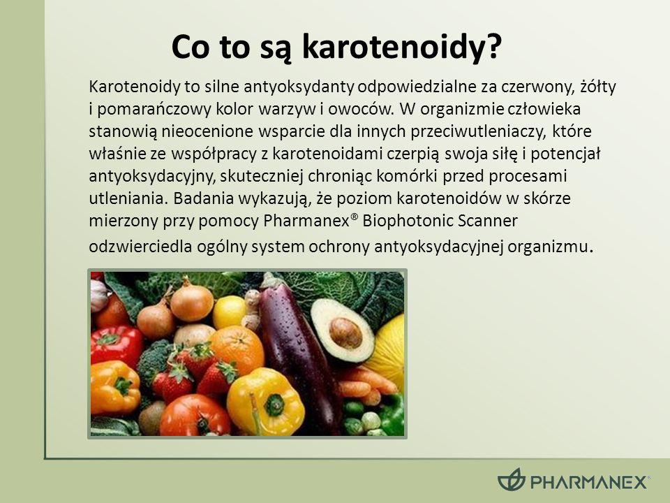 Karotenoidy to silne antyoksydanty odpowiedzialne za czerwony, żółty i pomarańczowy kolor warzyw i owoców. W organizmie człowieka stanowią nieocenione