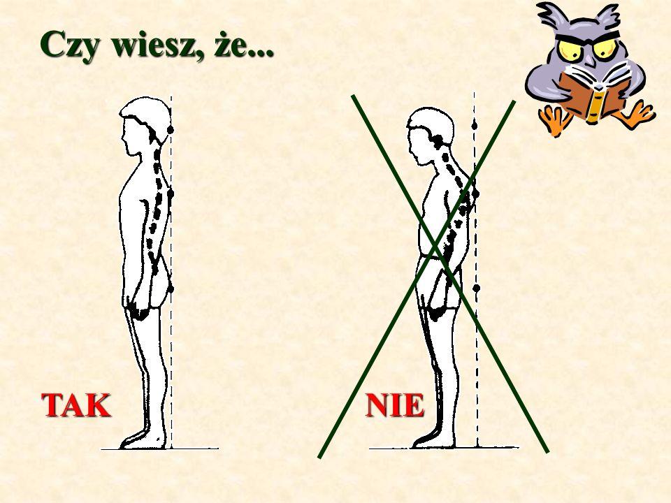 Zad.1. Trzy górne odcinki kręgosłupa tworzą 24 kręgi z czego...