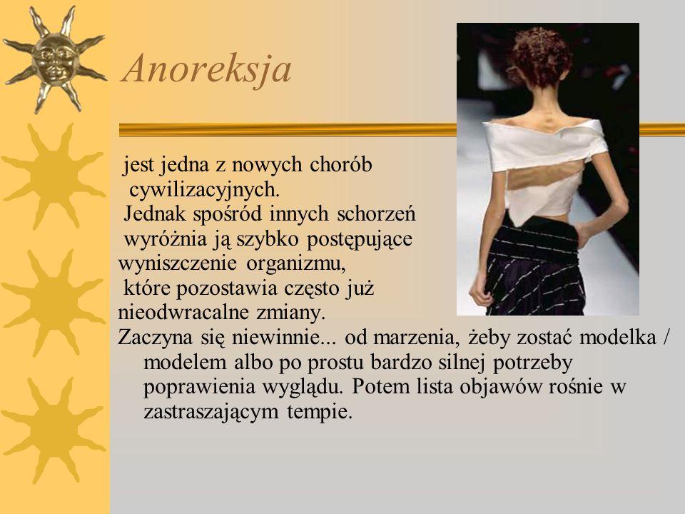 Anoreksja jest jedna z nowych chorób cywilizacyjnych. Jednak spośród innych schorzeń wyróżnia ją szybko postępujące wyniszczenie organizmu, które pozo
