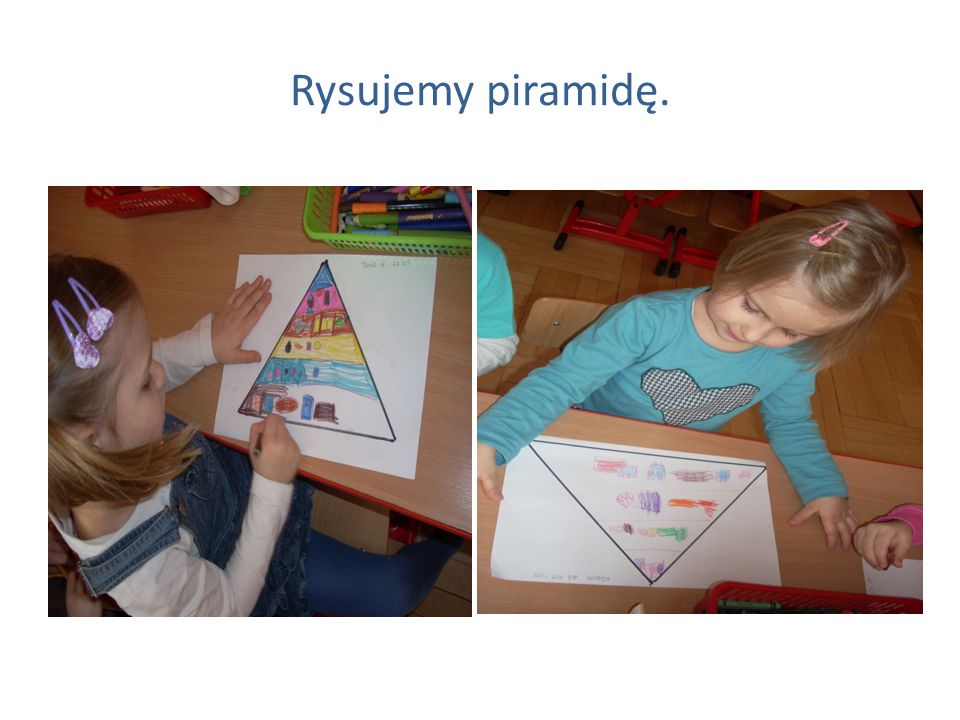 Rysujemy piramidę.