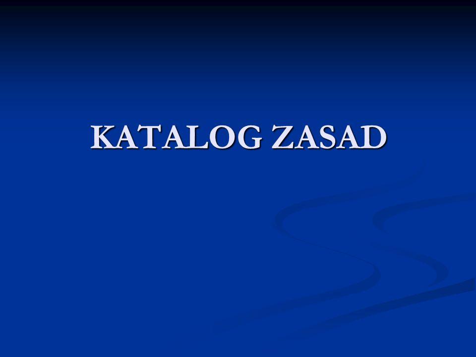 Zasada przyznania kompetencji Zasada przyznania kompetencji Zasada subsydiarności Zasada subsydiarności Zasada proporcjonalności Zasada proporcjonalności Zasada lojalnej współpracy Zasada lojalnej współpracy Zasada efektywności Zasada efektywności Zasada jednolitych ram instytucjonalnych Zasada jednolitych ram instytucjonalnych Zasada równowagi instytucjonalnej Zasada równowagi instytucjonalnej