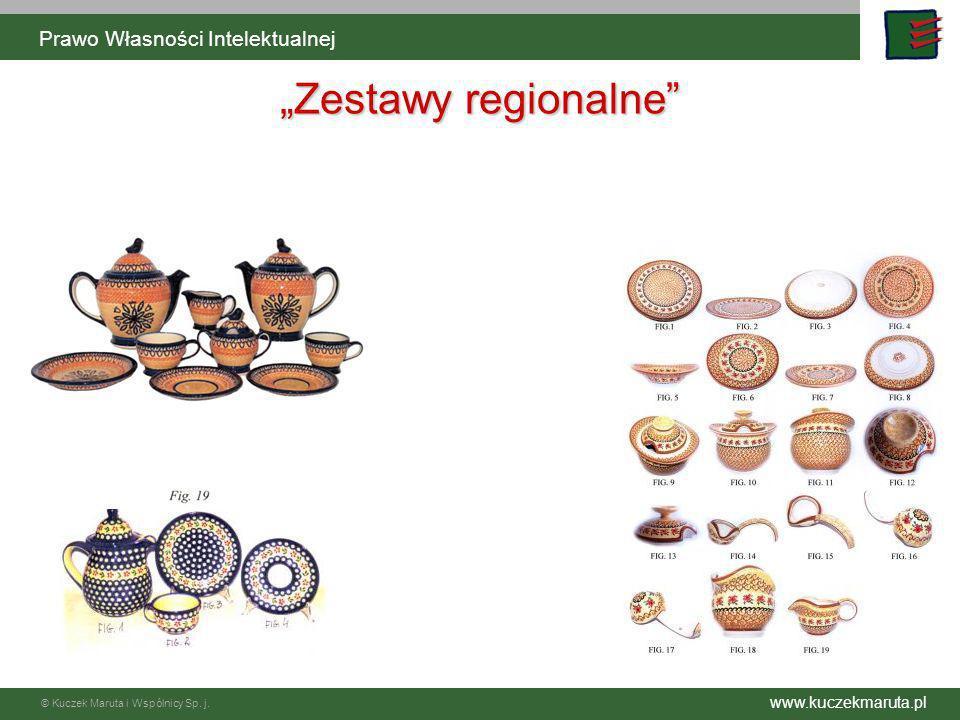 www.kuczekmaruta.pl © Kuczek Maruta i Wspólnicy Sp. j. Prawo Własności Intelektualnej Zestawy regionalne