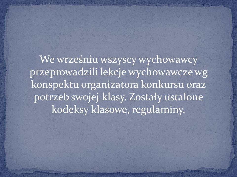 Nauczyciel historii pani Marzena Smolińska przeprowadziła zajęcia w klasie I, aby zapoznać dzieci z podstawowymi prawami oraz omówić przypadki łamania praw.