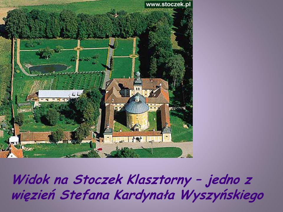 Widok na Stoczek Klasztorny – jedno z więzień Stefana Kardynała Wyszyńskiego