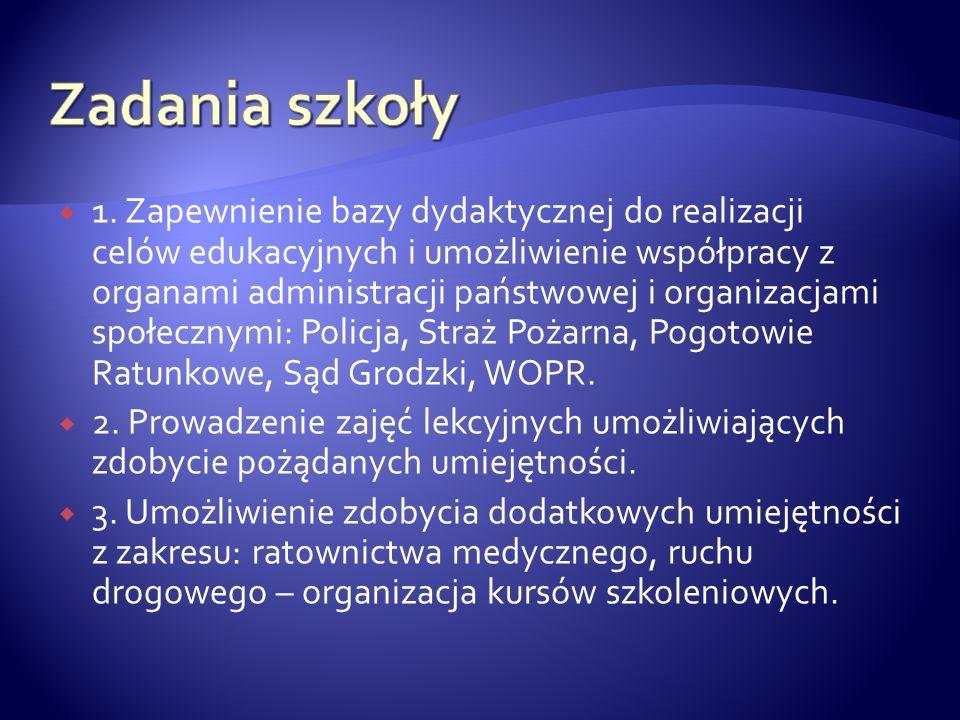 1.Historia i struktury organizacyjne Policji w Polsce.