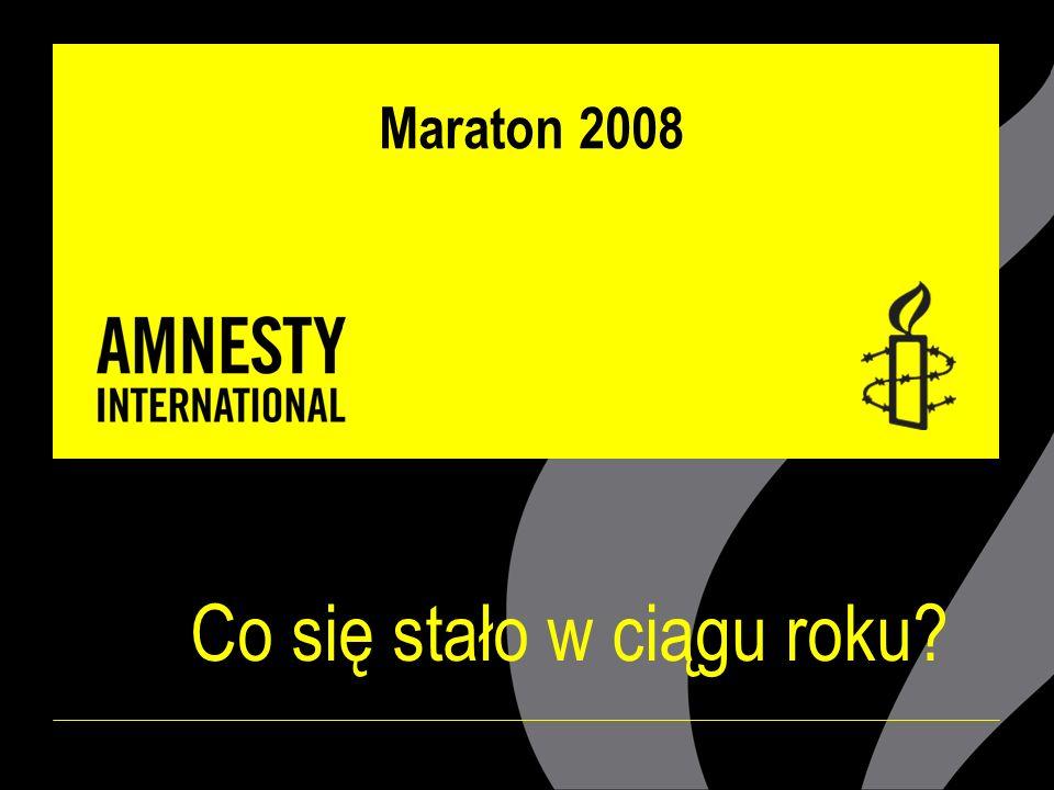 Maraton 2008 Co się stało w ciągu roku