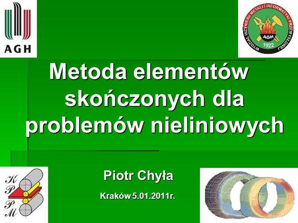 Metoda stycznych (Newtona) f(x) * f (x) > 0 f(x) = x 7 + 3x 4 – 3 = 0 f(x) = x 7 + 3x 4 – 3 = 0 f(x) = 7x 6 + 12x 3 = 0 f(x) = 7x 6 + 12x 3 = 0 f (x) = 42x 5 + 36x 2 = 0 f (x) = 42x 5 + 36x 2 = 0 Wartości dla x = 0,75 i x = 1 przedstawia tabela: 32