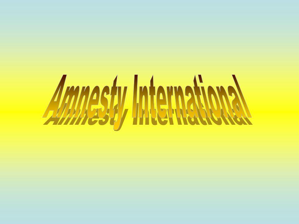 Ogólnie o organizacji Amnesty International Od początku Wizja Amnesty International Geneza Maraton Pisania Listów Pióra Nadziei Nagrody Krytyka Koncerty Metody Działania Pierwsza Pilna Akcja