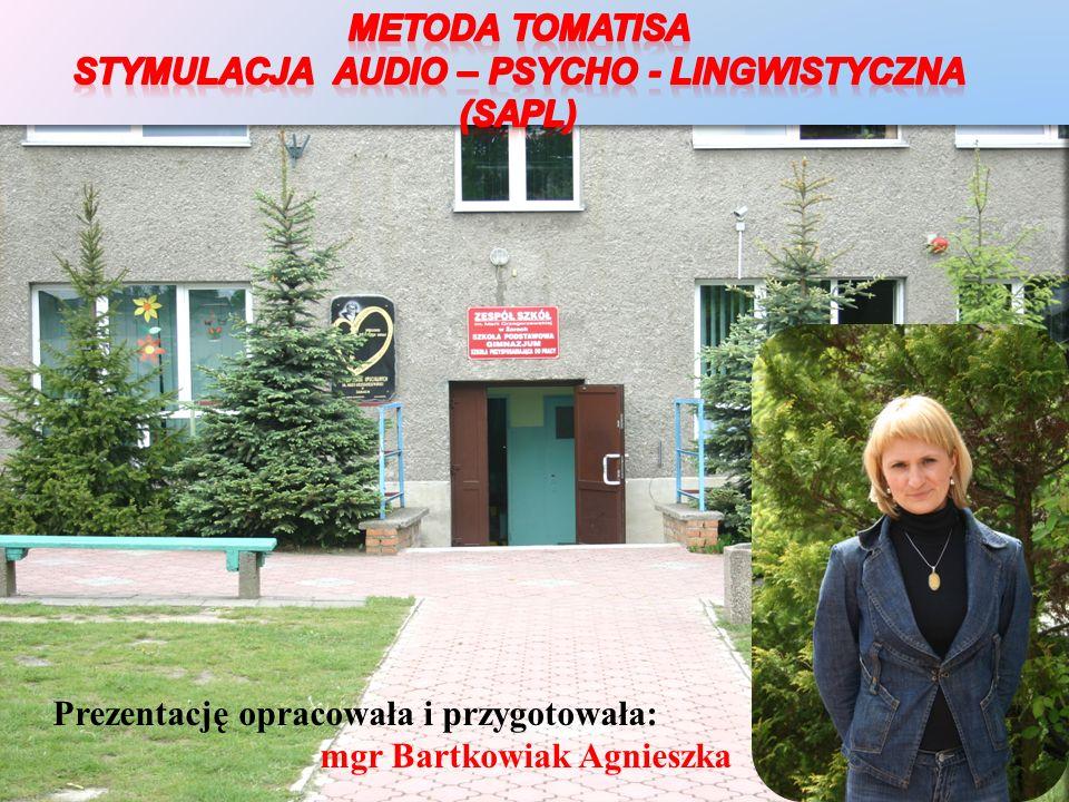 Prezentację opracowała i przygotowała: mgr Bartkowiak Agnieszka