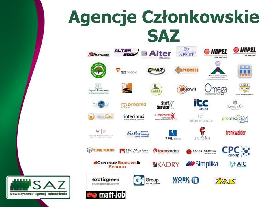 Agencje Członkowskie SAZ