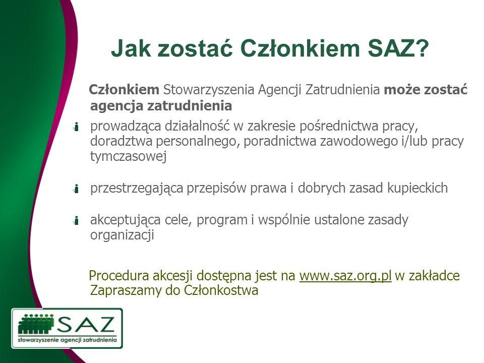 Jak zostać Członkiem SAZ.