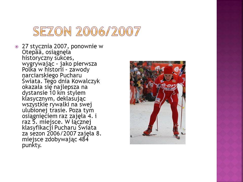 W łącznej klasyfikacji Tour de Ski Justyna Kowalczyk zajęła czwartą pozycję.